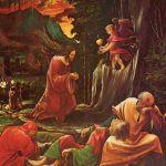 "Albrecht Altdorfer: ""Cristo nel Getsemani"" Linz. 1518 c."